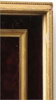 Oval Hand Painted Madonna & Child Portrait Plaque