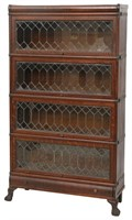 Oak Macey Sectional Stacking Bookcase