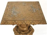 Cast Spelter Rococo Pedestal