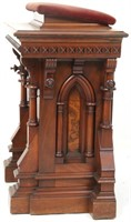 Gothic Style Walnut Lecturn