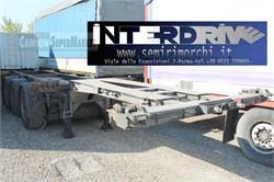 Renders Semirimorchio Portacontainer Allungabile Usato  used