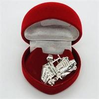 Silver  Pendant (185 - CR95)   (D2)