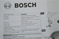 "Bosch 5"" Concrete Dust Collection System"