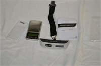 Elec. Luggage Scale and Pocket Scale