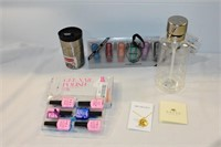 Marvis Toothpaste, Gel Nail Polish, Necklace, etc.