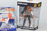 Deathstroke Figure, Nerf Gun, etc.