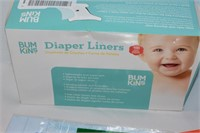 Diaper Liners, Baby Spoons, etc.