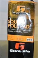 Square Pole Pad (Damaged), Duffel Back, &