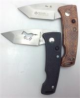 2 MASERIN LOCKBLADE POCKET KNIVES