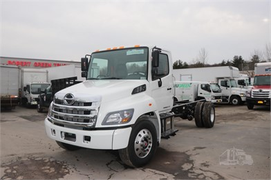 HINO 338 Cab & Chassis Trucks For Sale By Robert Green Truck