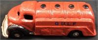GULF CAST IRON TRUCK