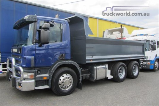 2002 Scania P124G Trucks for Sale