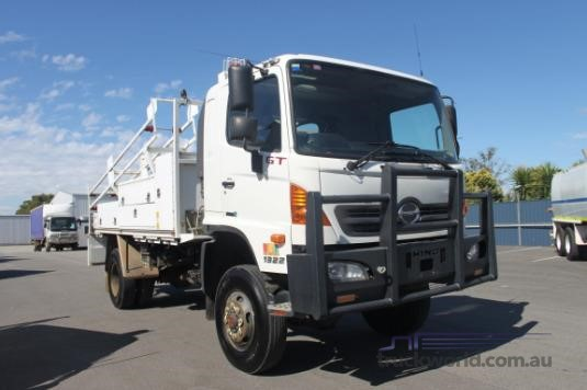 2012 Hino GT 4x4 Trucks for Sale