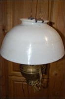 Electrified Lamp with Chain Adjustment Mech