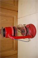 "DIETZ Red Lantern approx 9"" Tall"