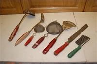 Red Handled Kitchenware
