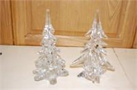 Lead Crystal Christmas Tree