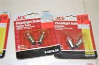 Six Flashlight Bulbs packages
