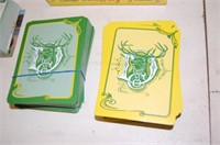 JD PLAYING CARDS and Equipment CARDS
