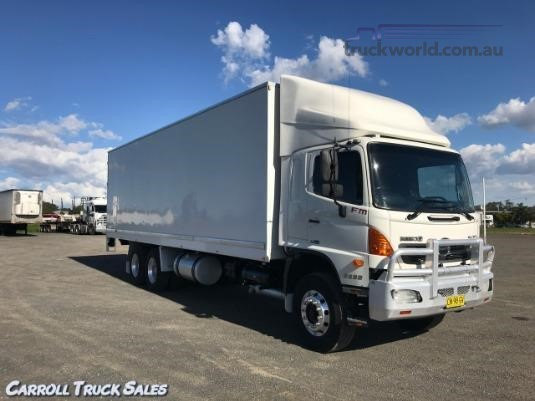 2009 Hino 500 Series 2632 FM XLong Air Carroll Truck Sales Queensland - Trucks for Sale