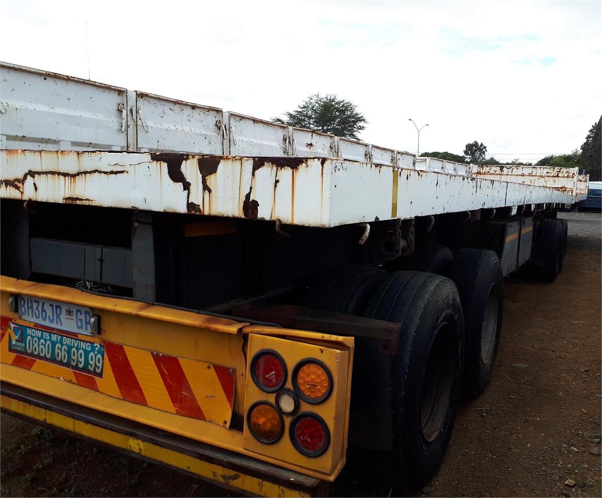 1995 Sa Truck Bodies Superlink Flat Deck For Sale In Pretoria Gauteng South Africa Truckpaper Com