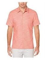 """As Is"" Perry Ellis Men's XL Short S Solid Shirt"