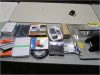 Box Lot of Electronic & Office Related Items