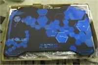 EBLUE 37236 RGB Glowing PC Gaming Desk 2.0, Large,