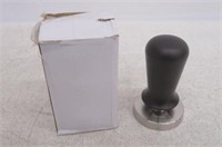 Coffee Tamper w/ Flat Stainless Steel Base