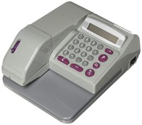 UBICON Checkwriter with Two Additional Ink