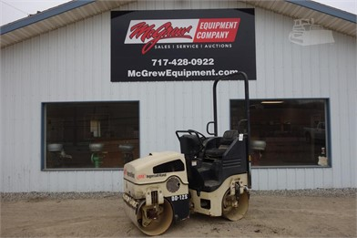 INGERSOLL-RAND DD12S Smooth Drum Roller Auction Results - 1
