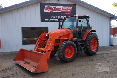 KUBOTA M110GX DTC Tractor With Cab And Loader ... on