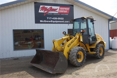NEW HOLLAND Wheel Loaders Auction Results - 19 Listings