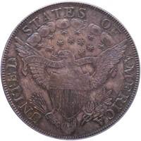 $1 1802/1 PCGS AU58 CAC