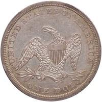 $1 1841 PCGS AU55 CAC