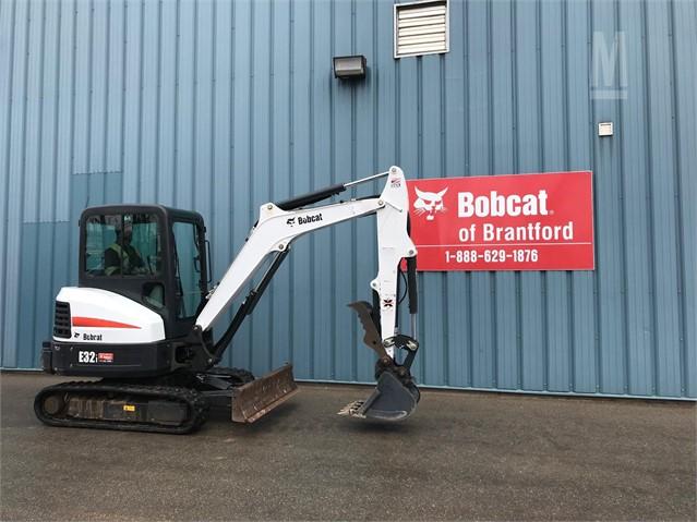 Bobcat Of Brantford >> 2016 Bobcat E32 For Sale In Brantford Ontario Canada