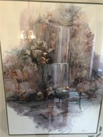 Adin Shade Framed Waterfall Print