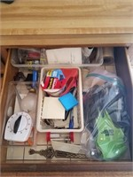 Lot of miscellaneous drawers
