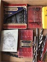 Lot of drill bit indexes and more