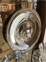 Lot of Cambridge Glass and SIlver Plate