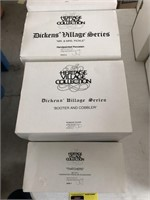 Lot Of 5 Department 56 Dickens Village Series