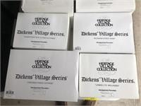 Lot Of 9 Department 56 Dickens Village Series