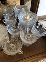 Large Lot of Cambridge Glass