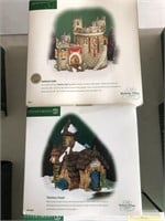 Lot of 3 Department 56 Village Set Pieces