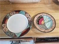 Sakura 58 piece dish set