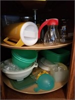 Lot of Tupperware and more