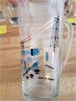 Path of Power drinking glasses with pitcher