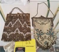 Vintage mesh coin purses