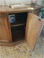 Hall cabinet with decor and more