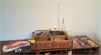 Lot of Pepsi collectibles